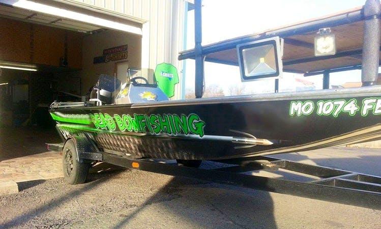 Bass Boat Fishing Trips in Big Creek Township, Missouri
