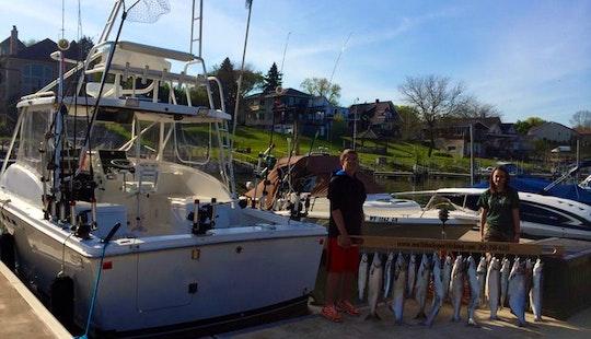 Kenosha Fishing Charter On