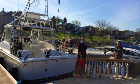 Kenosha Fishing Charter On