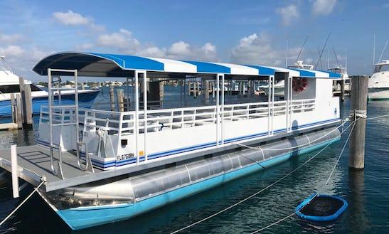 42 Passanger Pontoon Charter Boat, Parties, Weddings, Corporate Events.