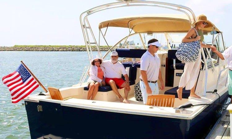 """Charter 34ft """"Stargazer"""" Cuddy Cabin Yacht In Charleston, South Carolina"""