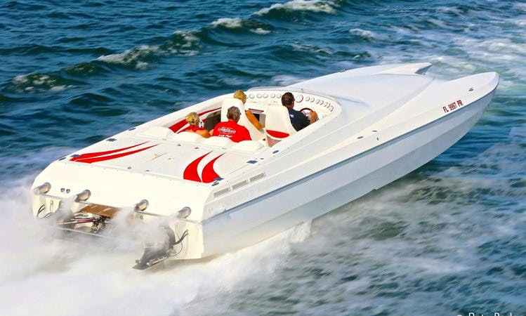 Speed Boat Charter in Sunny Isles Beach