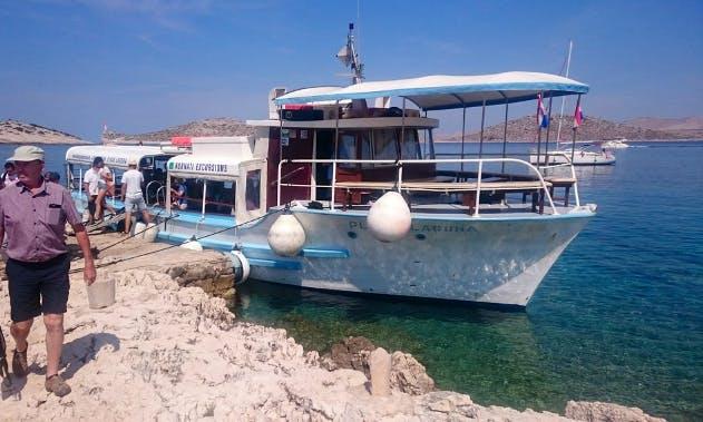 "Charter The ""Plava Laguna"" Passenger Boat In Zadar, Croatia"