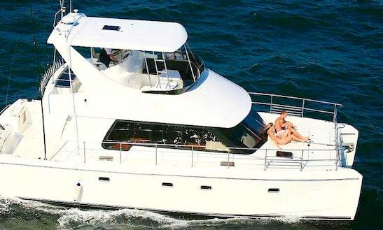 Charter Shumwari Iii Power Catamaran In Durban, Kwazulu-natal