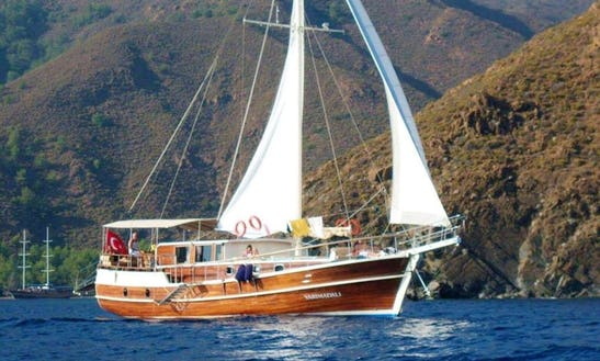 Charter 66' M/s Black Marlin Gulet In Illes Balears, Spain