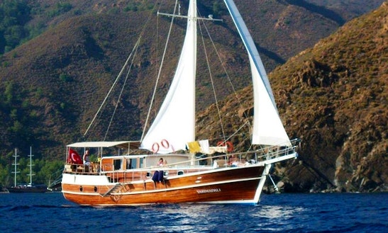 Charter 66' M/s Black Marlin Gulet In Illes Balears, Spain