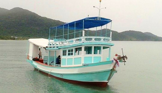 Rodjanaphan Private Fishing Boat In Tambon Ko Chang