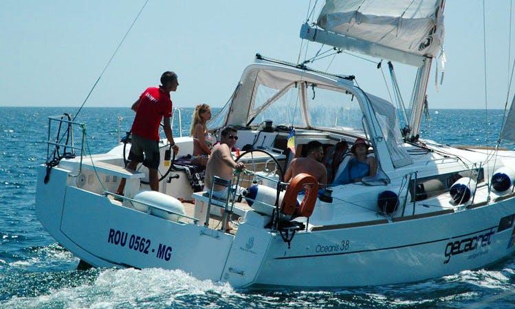 Beneteau Oceanis 38 Rental in Mangalia