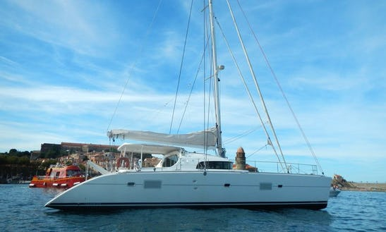 Charter 56' Elisa Cruising Catamaran In Marseille, France