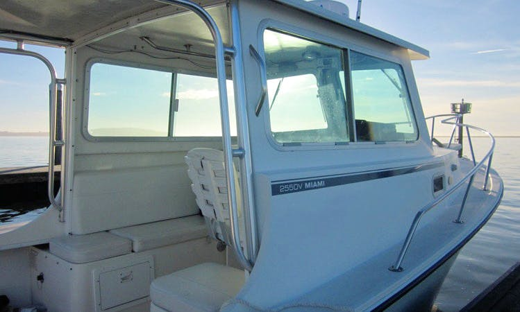 25' Steiger Craft Fishing Boat in Eureka