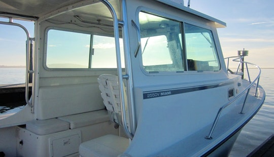 25' Steiger Craft Fishing Boat In Eureka