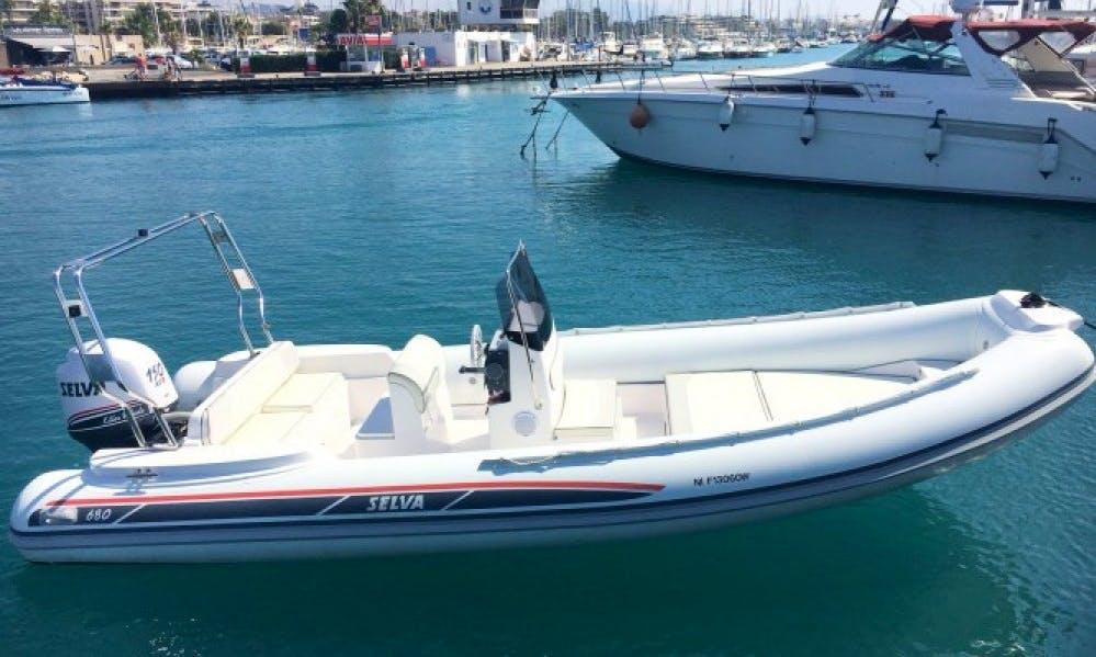 Charter Selva 680 Rigid Inflatable Boat in Villaggio Mosè, Italy
