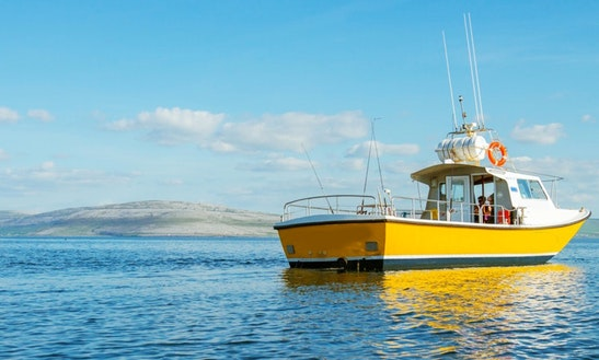 34' Fishing Trip Boat In Rossaveel
