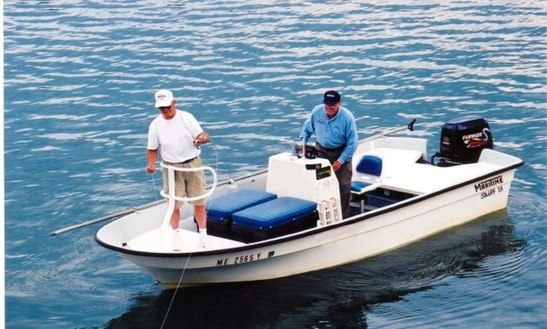 Fly Fishing Boat Rental In Brunswick, Me