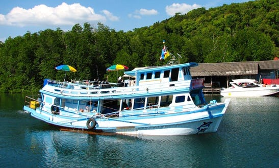 Koh Kood Fishing Boat Charter In Thailand
