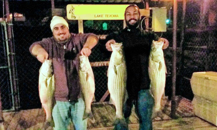 Fishing Guide Service on Lake Texoma