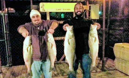 Fishing Guide Service On Lake Texoma