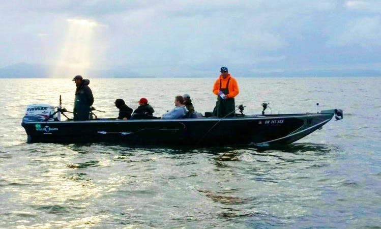 Power Boat Fishing Trips in McMinnville, Oregon