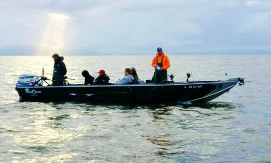 Power Boat Fishing Trips In Mcminnville