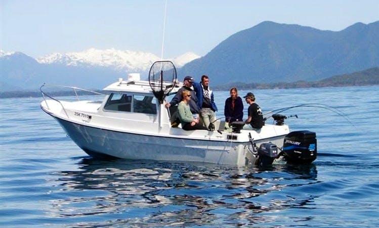 'Relentless' Deep Sea Fishing Charter in Tofino