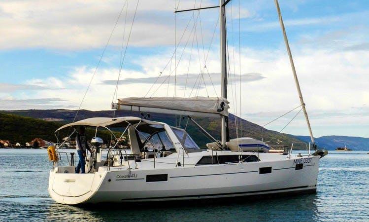 Charter 41' Beneteau Oceanis - Veda Cruising Monohull in Muo, Montenegro