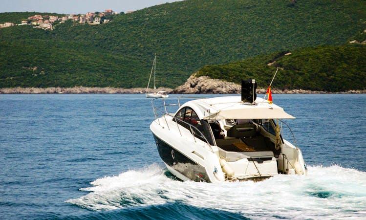 Charter 34' Beneteau - Gran Turismo Motor Yacht in Muo, Montenegro