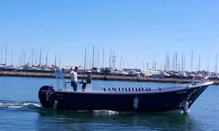 Private Boat to Benagil Caves whit capitan