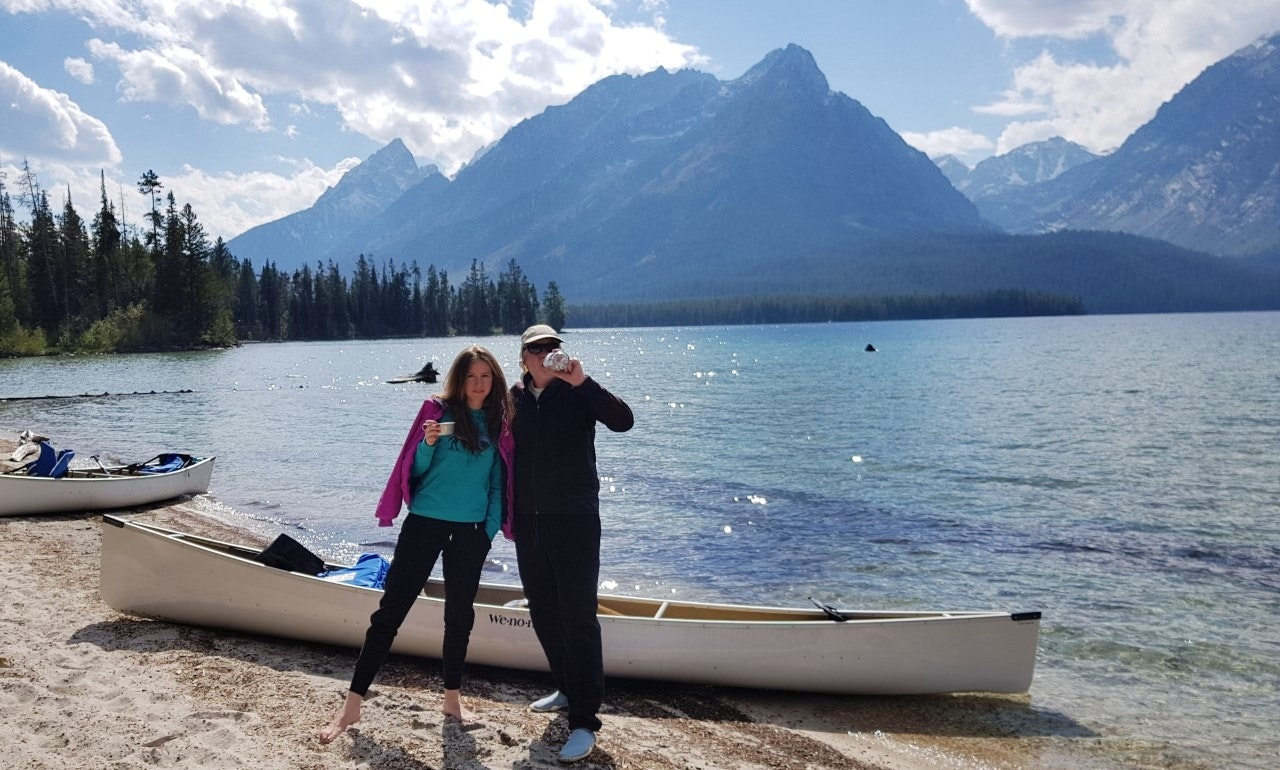 Nice 2015 Wenonah Fisherman Canoe For Grand Lake Shadow Mountain