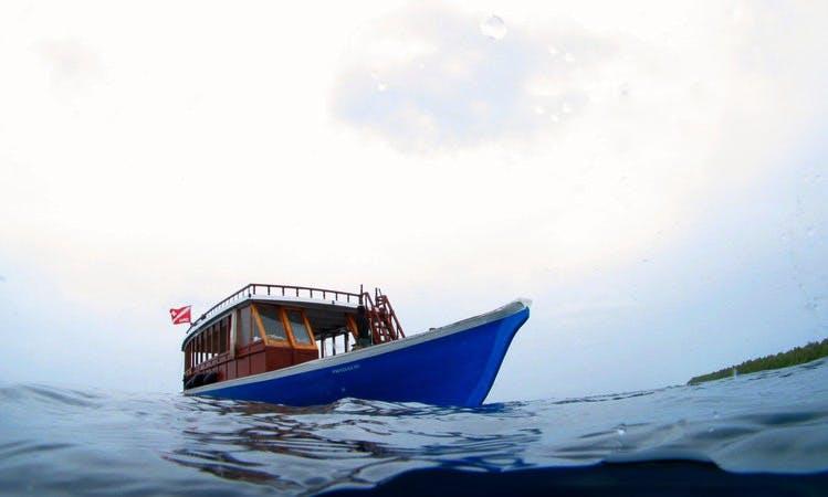 Passenger Boat Rental in Atiatoll, Maldives