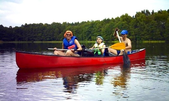 Canoe Rental In Ely, Minesotta Usa