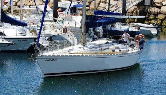 'azouzel' Sailing Monohull Charter In Vilagarcía De Arousa