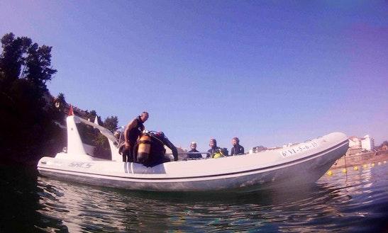 Breathing Underwater Diving Trips In Sanxenxo, Spain