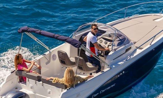 22ft Cap Camarat Bowrider Rental In Dubrovnik, Croatia