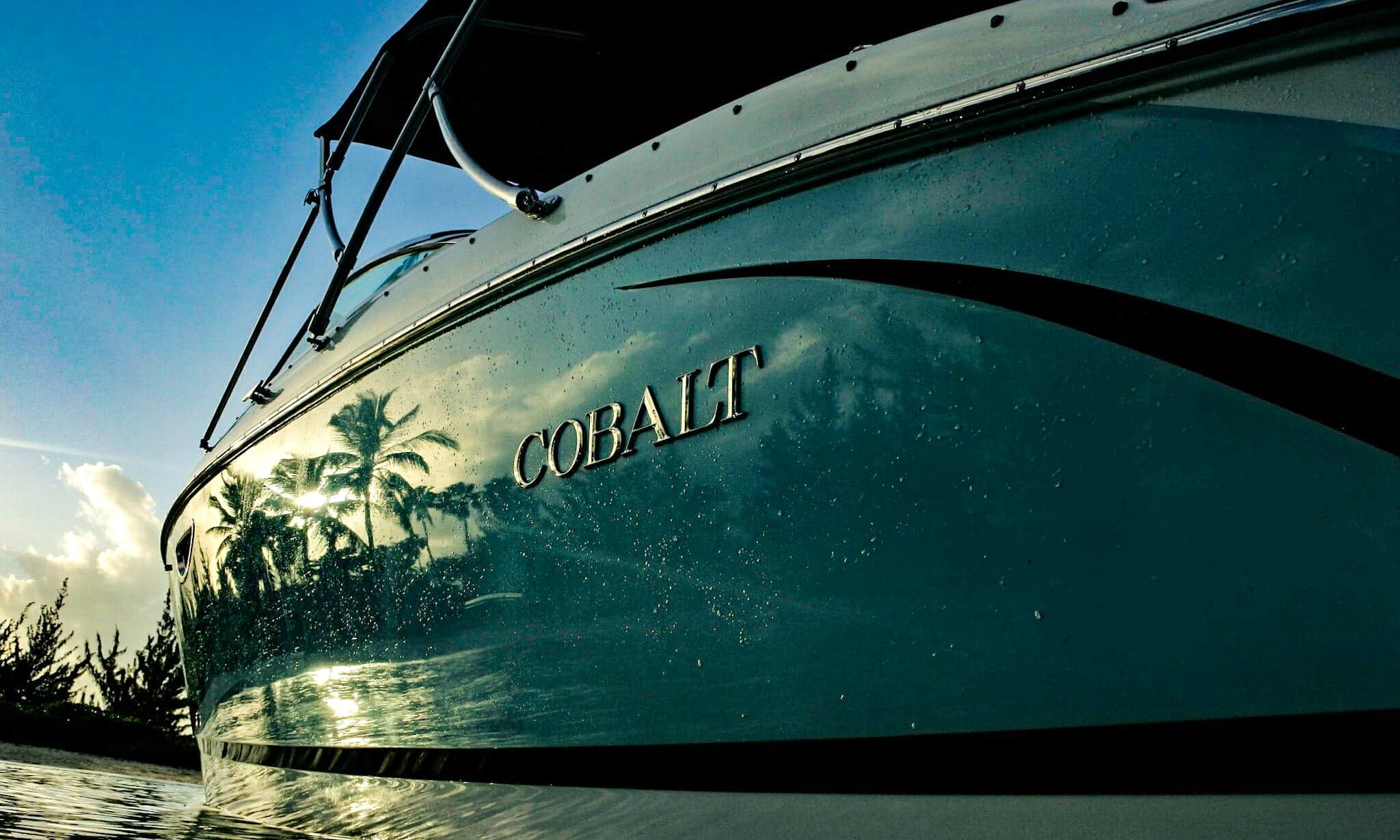 Cobalt R5 Bowrider Boat Rental In George Town, Cayman Islands