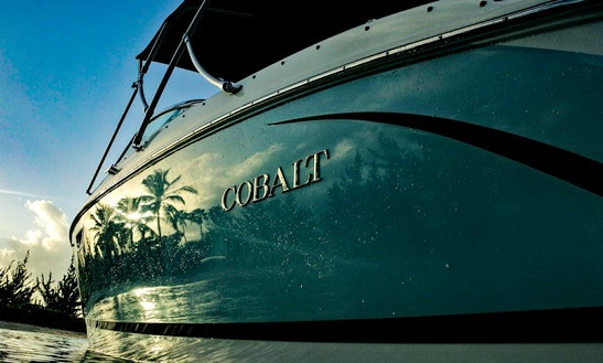 Cobalt R5 Bowrider Boat Rental In George Town, Cayman Islands