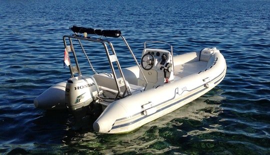 Rent 16' Sea Pioner Rigid Inflatable Boat In Rogoznica, Croatia