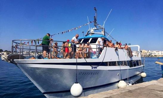 Charter A Trawler In Otranto, Italy