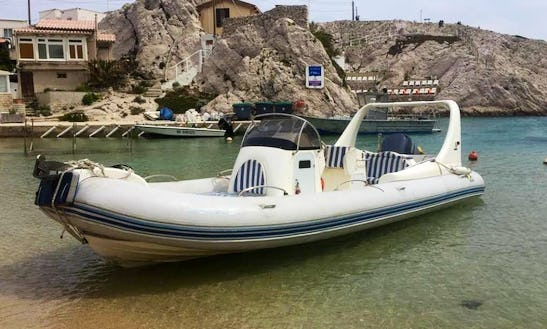 Charter Medline Iii Rigid Inflatable Boat In Marseille, France