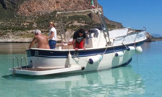 Charter A Center Console In Favignana, Italy