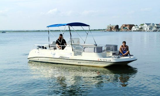 Pontoon Boat Rental In Margate City, New Jersey United States