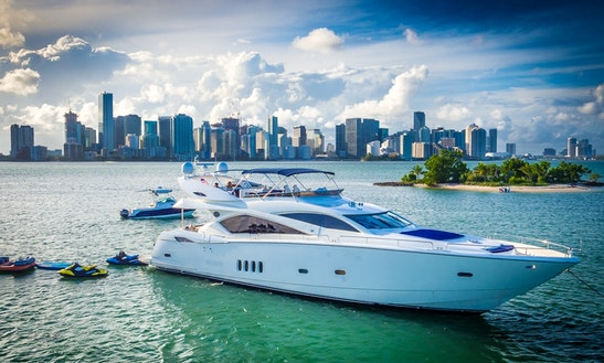 Top Gun - 98' Luxury Yacht In Palm Beach
