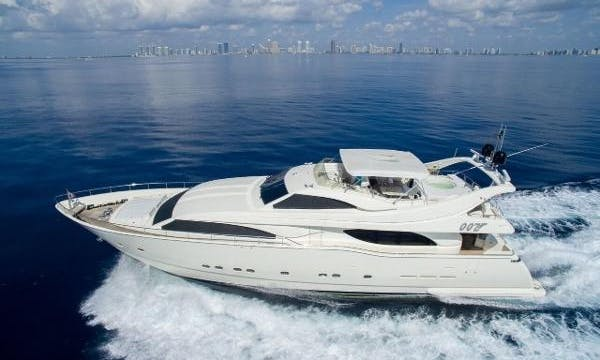Ferretti 90 - Miami Luxury Yacht Charter