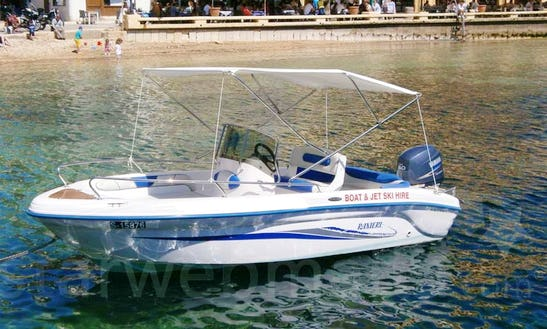 A Self-driven New Speed Boat 4 For Hire In Xlendi Bay, Munxar