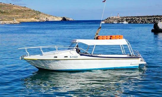 Experience The Xlendi Iv Boat Trips And Charters In Xlendi Bay, Munxar
