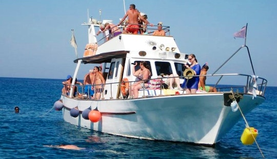 Enjoy Paralimni, Cyprus On 46' Passenger Boat