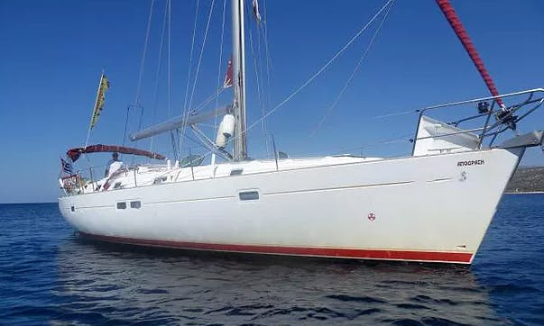 Charter 42' Beneteau Oceanis 41.1 Cruising Monohull in București, Romania