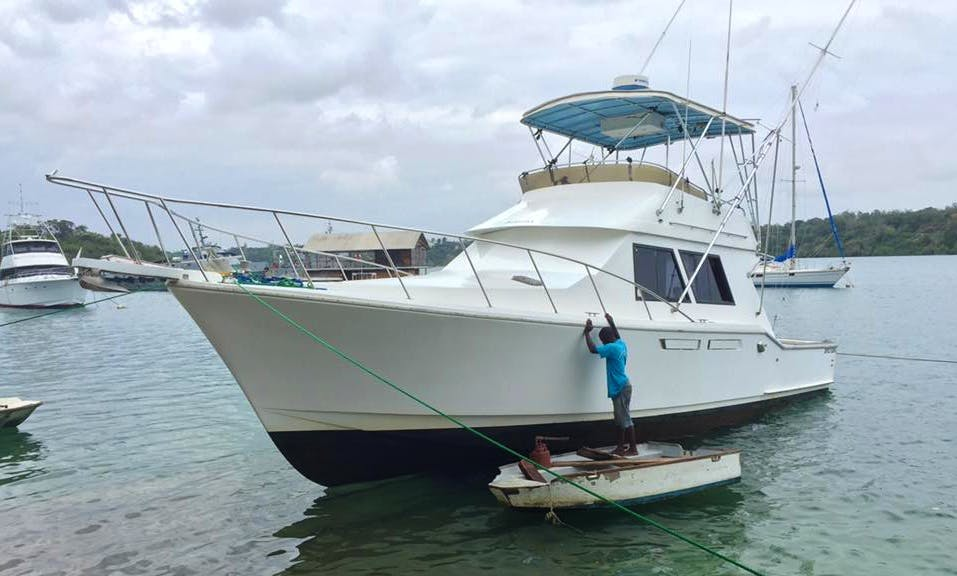 Enjoy Fishing in Kilifi, Kenya on 42' Nautique Sport Fisherman