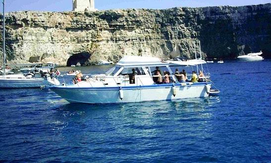 Charter 40' Blue Lagoon Cuddy Cabin In  Mgarr, Malta