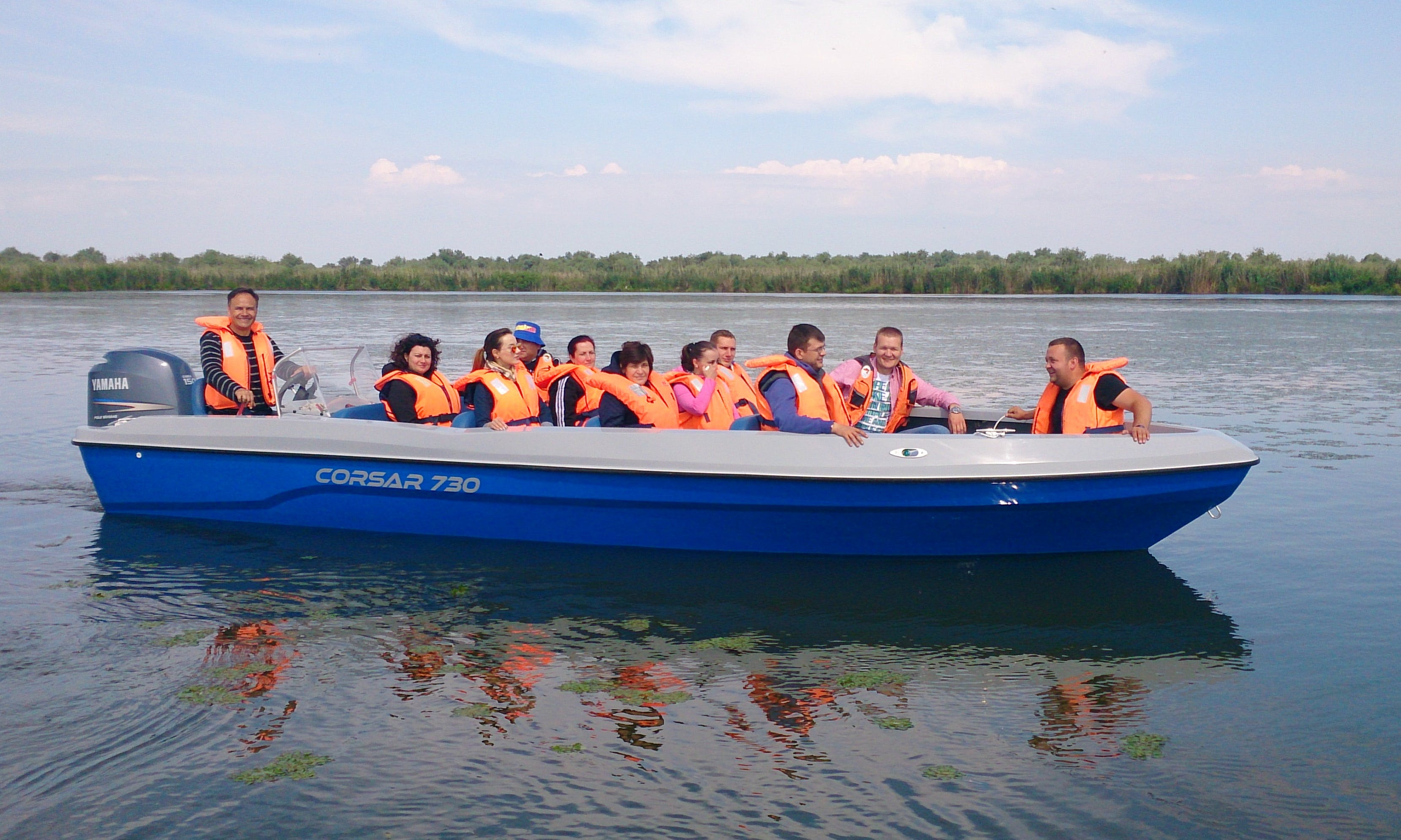 Boat Wildlife Tour in Mila 23, Danube Delta, Tulcea, Romania - all inclusive
