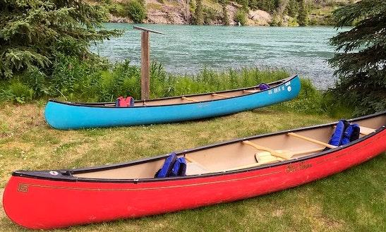 Canoe Rental In Cooper Landing, Alaska
